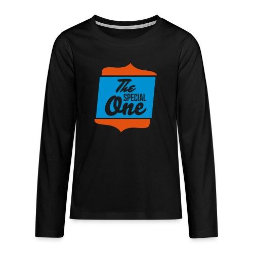 the special one - Koszulka Premium z długim rękawem dla nastolatków