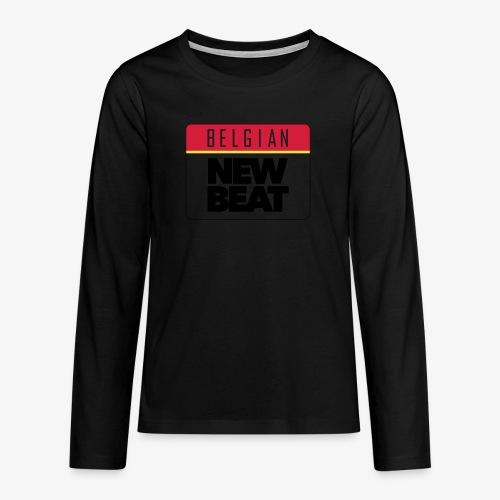 BNB LOGO - Teenager Premium shirt met lange mouwen