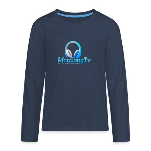 logo - Camiseta de manga larga premium adolescente