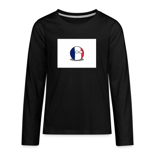 France Simple - T-shirt manches longues Premium Ado