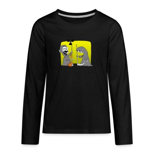 Nuclear Progress - Teenagers' Premium Longsleeve Shirt