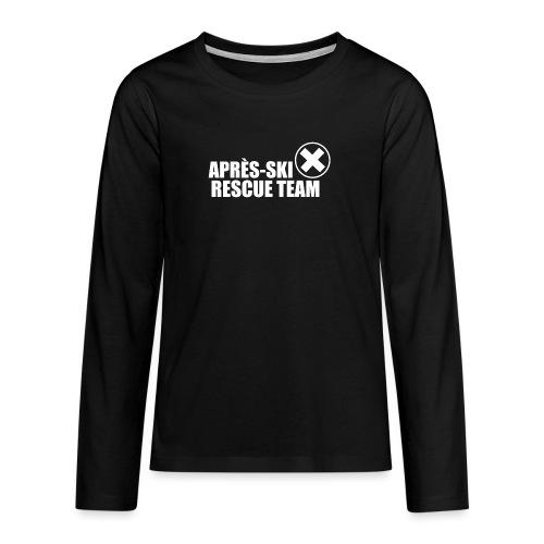 APRÈS SKI RESCUE TEAM 2 - Teenager Premium shirt met lange mouwen