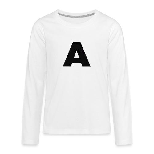 A-685FC343 4709 4F14 B1B0 D5C988344C3B - Teenager premium T-shirt med lange ærmer