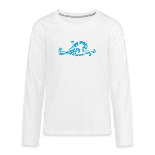 EZS T shirt 2013 Front - Teenager Premium shirt met lange mouwen