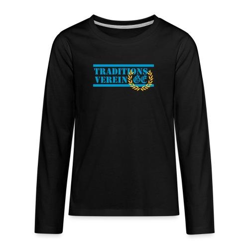 Traditionsverein - Teenager Premium Langarmshirt
