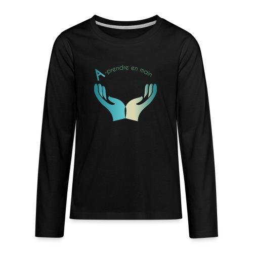 Association A prendre en Main - T-shirt manches longues Premium Ado
