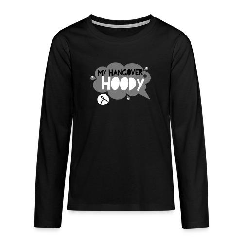 silver - Teenagers' Premium Longsleeve Shirt