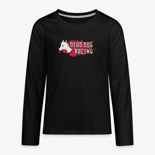 Dead dog racing logo - Teenagers' Premium Longsleeve Shirt