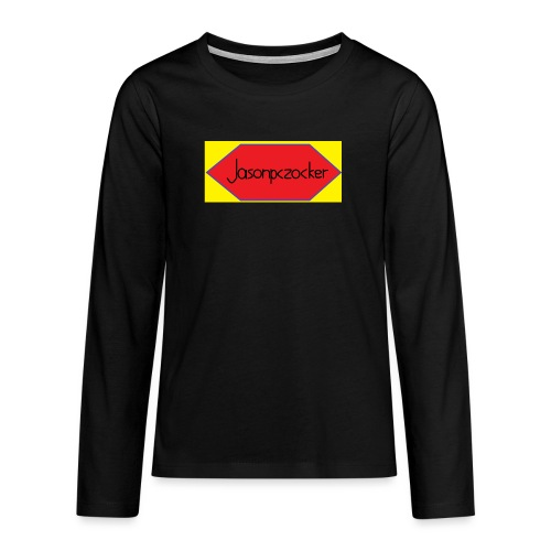 Jasonpczocker Design für gelbe Sachen - Teenager Premium Langarmshirt