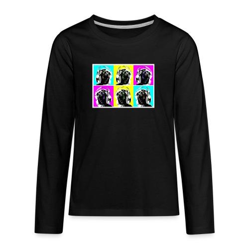 aeroeye - Teenager Premium Langarmshirt