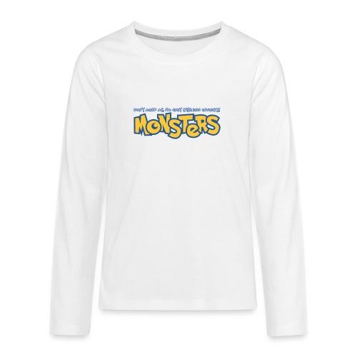 Monsters - Teenagers' Premium Longsleeve Shirt