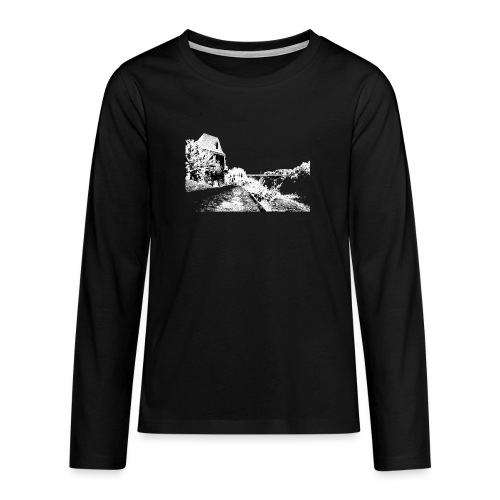 J'aime Mouleydier - Pont F - T-shirt manches longues Premium Ado
