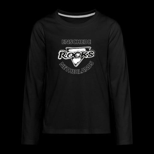 Rocks Enschede NL B-WB - Teenager Premium shirt met lange mouwen