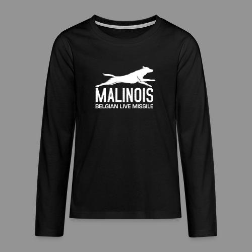 Belgian shepherd Malinois - Teenagers' Premium Longsleeve Shirt