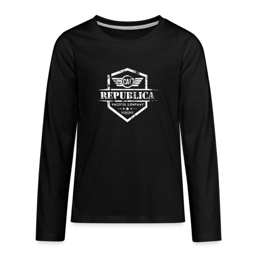 REPUBLICA CATALANA - Camiseta de manga larga premium adolescente