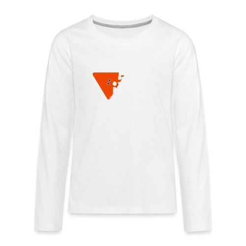 .5.56 NATO BLANC - T-shirt manches longues Premium Ado