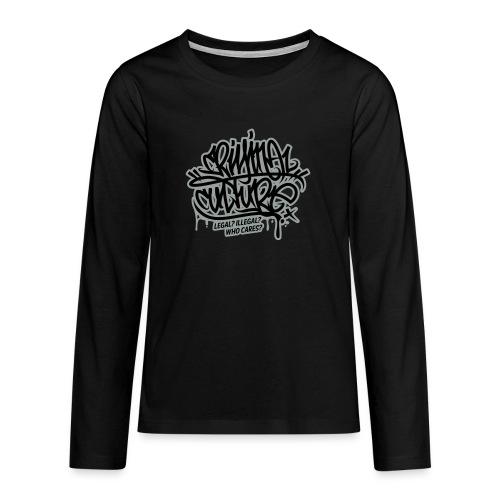 Criminal Culture - Teenager Premium Langarmshirt