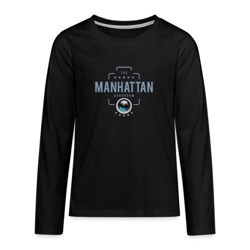 MANHATTAN DARKROOM VINTAGE - T-shirt manches longues Premium Ado