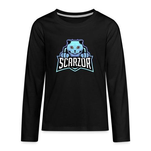 Scarzor Merchandise - Teenager Premium shirt met lange mouwen