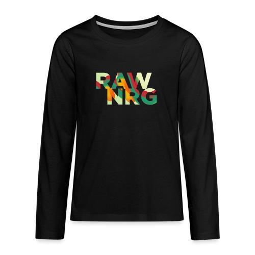 Artboard 1 4x - Teenagers' Premium Longsleeve Shirt