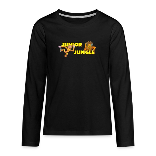 T-charax-logo - Teenagers' Premium Longsleeve Shirt