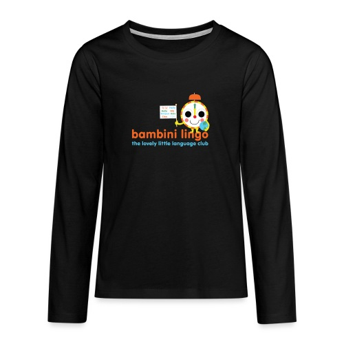 bambini lingo - the lovely little language club - Teenagers' Premium Longsleeve Shirt
