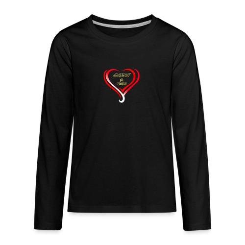 fete mere - T-shirt manches longues Premium Ado