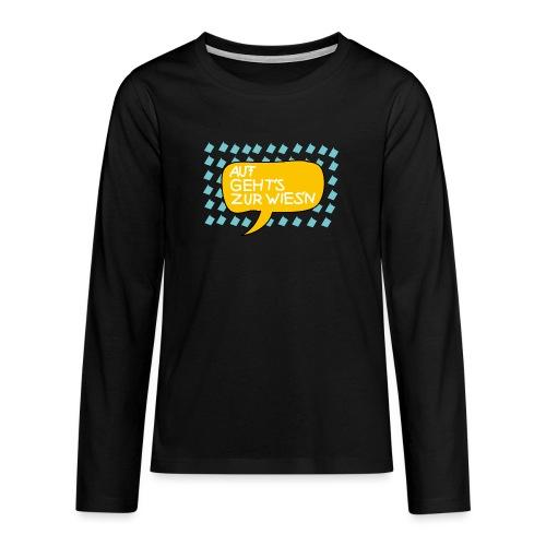 Wiesnfestl Oktoberfest - Teenager Premium Langarmshirt