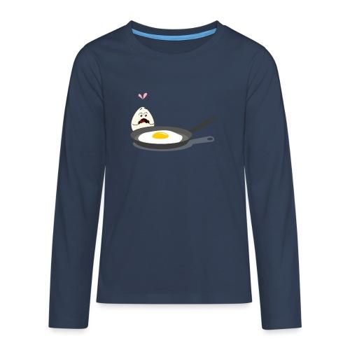 Broken Love, Eier, Liebespaar - Teenager Premium Langarmshirt