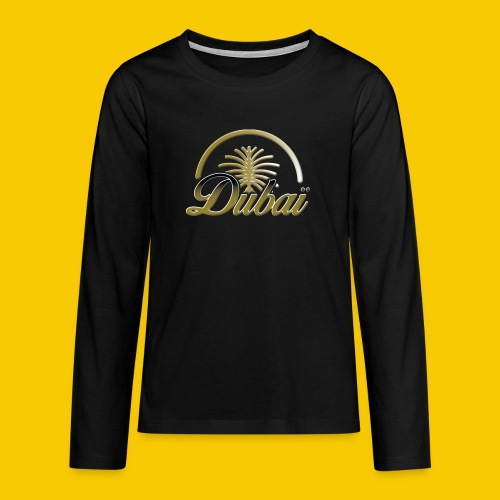 DUBAI - T-shirt manches longues Premium Ado