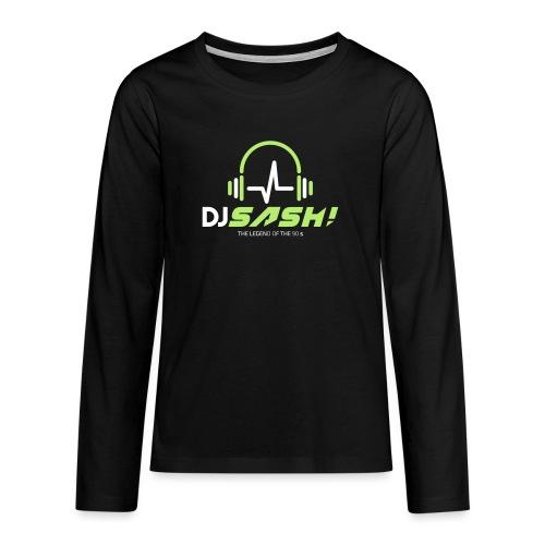 DJ SASH! - Headfone Beep - Teenagers' Premium Longsleeve Shirt