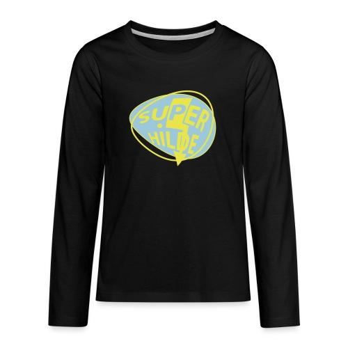 superhilde - Teenager Premium Langarmshirt