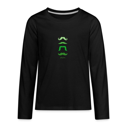 hipster - T-shirt manches longues Premium Ado