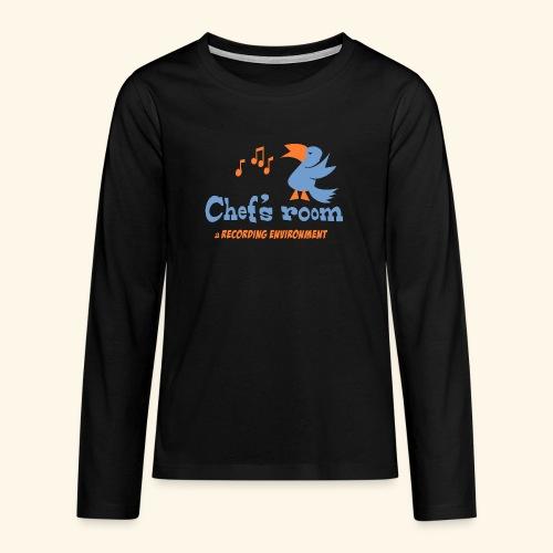chefs room - Teinien premium pitkähihainen t-paita