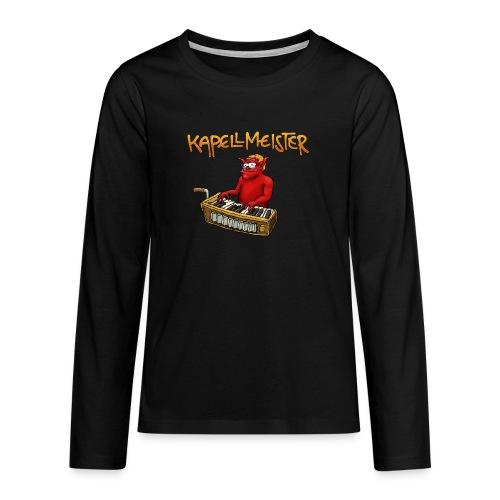Kapellmeister - Teenagers' Premium Longsleeve Shirt