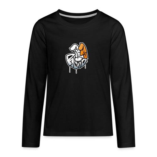 PRL DOG - Koszulka Premium z długim rękawem dla nastolatków