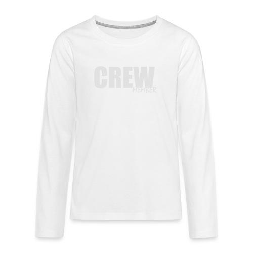 no name - Teenager Premium shirt met lange mouwen