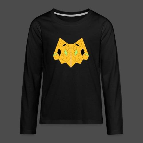 Owl Colour Redraw - Teenagers' Premium Longsleeve Shirt
