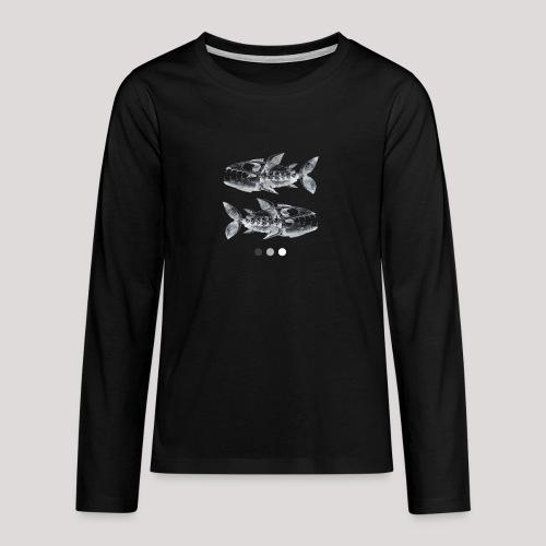 Fish05 - Teenagers' Premium Longsleeve Shirt