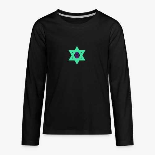 Star eye - Teenagers' Premium Longsleeve Shirt