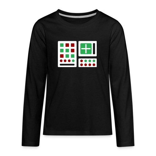 Classic Computer 2 - Teenager Premium Langarmshirt