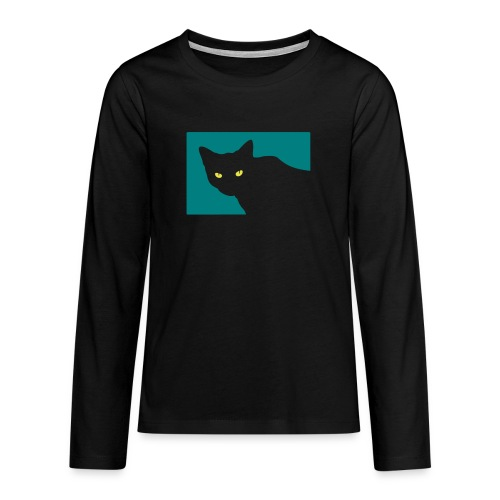 Spy Cat - Teenagers' Premium Longsleeve Shirt