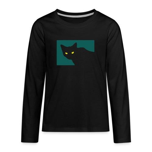 Spy Cat - Teenagers' Premium Longsleeve Shirt
