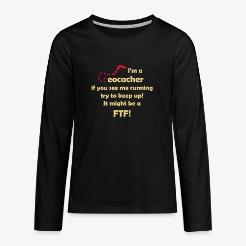 FTF-Jäger - Teenager Premium Langarmshirt