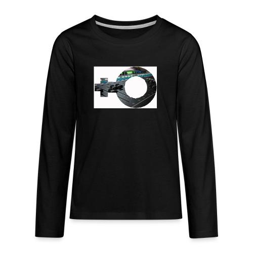 women in sound - Teenagers' Premium Longsleeve Shirt