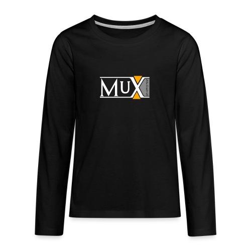 Muxsport - Teenager Premium Langarmshirt