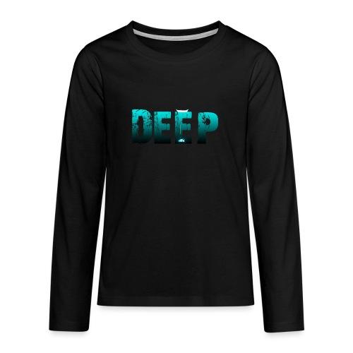 Deep In the Night - Maglietta Premium a manica lunga per teenager