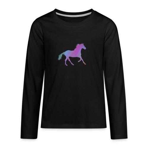 Horse - Teenagers' Premium Longsleeve Shirt