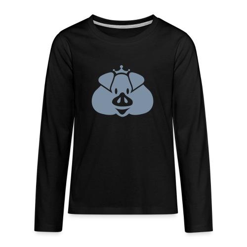 Habsburger Schwein - Teenagers' Premium Longsleeve Shirt