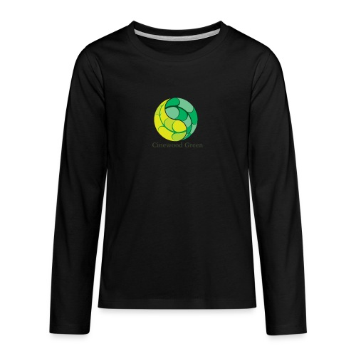 Cinewood Green - Teenagers' Premium Longsleeve Shirt